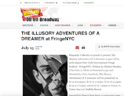 The Illusory Adventures of a Dreamer announced on Broadwayworld.com (July 15, 2016)