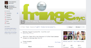 Official Fringe Facebook Event Page
