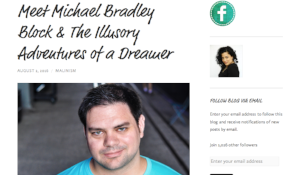 Malinism.com interviews playwright Michael Bradley (August 2, 2016)