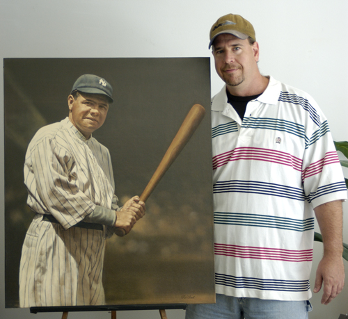 Ron Stark is the son of legendary artist Bruce Stark. Ron has been creating quality sports art since 1991 and has evolved into one of the premiere sports artists in the country.