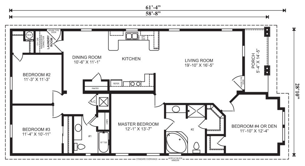 ... FloorPlan WIthout Furn 1