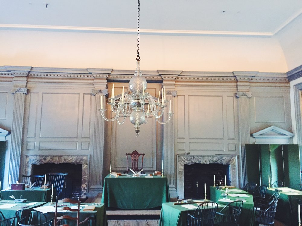 Independence Hall Declaration Room