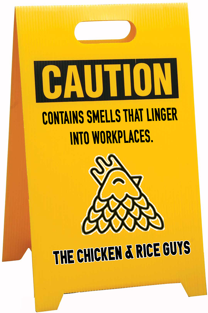 The Chicken And Rice Guys Ronny Mitra Design