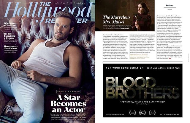 "For Your Consideration - Best Live Action Short Film | ""Powerful, Moving and Captivating!"" 