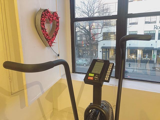 Get your heart on ❤️🐱 -  #thedistrict #washingtondc #fitnessstudio #valentinesday2019 #dctrainer
