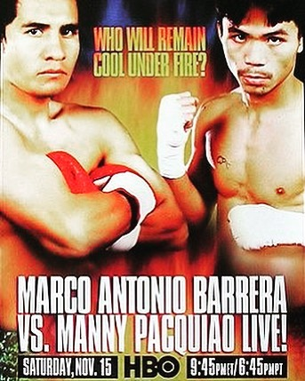 On this day 15 years ago the young @mannypacquiao took on the legendary veteran @marcobarrerat #boxinghistory #boxinganniversary #pacquiao #barrera #hbo #boxing #kidhersh #boxingwriting #champion #boxer #boxers #sport #mayweather #knockout #canelo #GGG #live #gym #kidhersh #fun #fight #fighting #gloves #ring #joshua #AJ