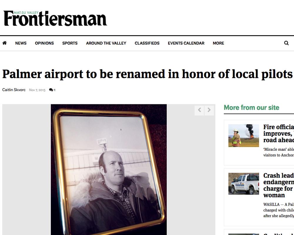 Palmer Airport...   November 7, 2015