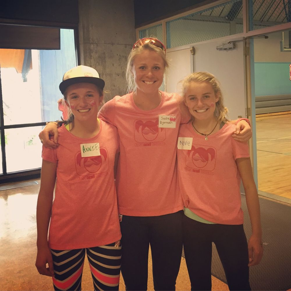 Fast and Female with some of our new young PNSA stars! So fun to see these girls having fun and doing well! I miss these young days of Pacific Northwest training and racing.