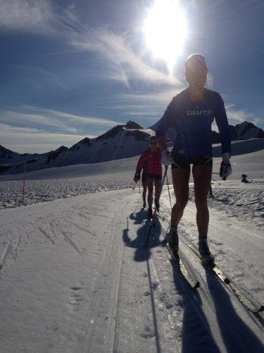 Sun, shorts, and smiles! (Jessie Diggs photo)