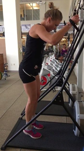 Ski Erg Intervals- one great way to entertain yourself on this machine!
