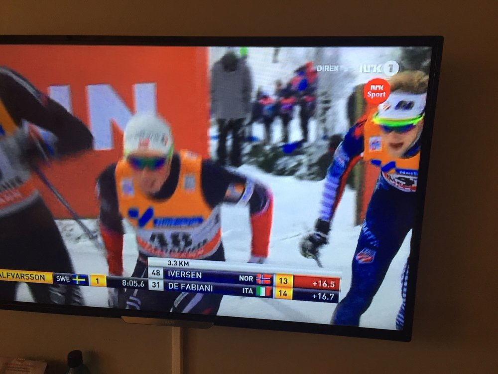 Watching the boys on TV as Packer chases down a pretty good ride! It has been great to have Packer on the road during Period one, discovering the world of European World Cup racing!