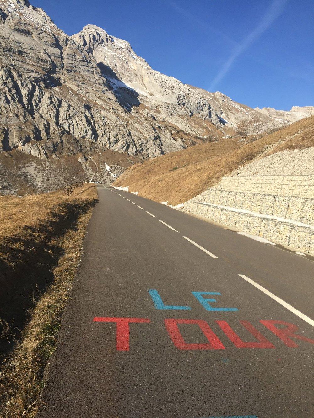 Adventuring around the La Clusaz region to one of the famous Tour de France climbs, Cold de la Colombiere.