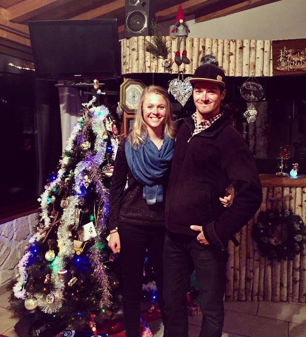 Christmas in Hauteville.