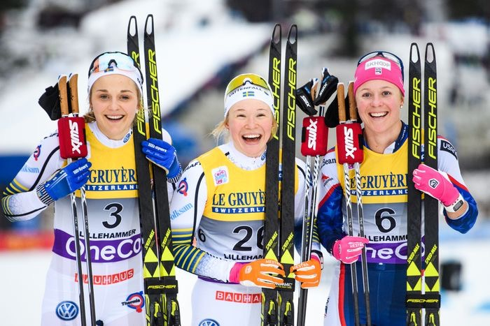 Happy Girls! (Fischer/Nordic Focus photo)