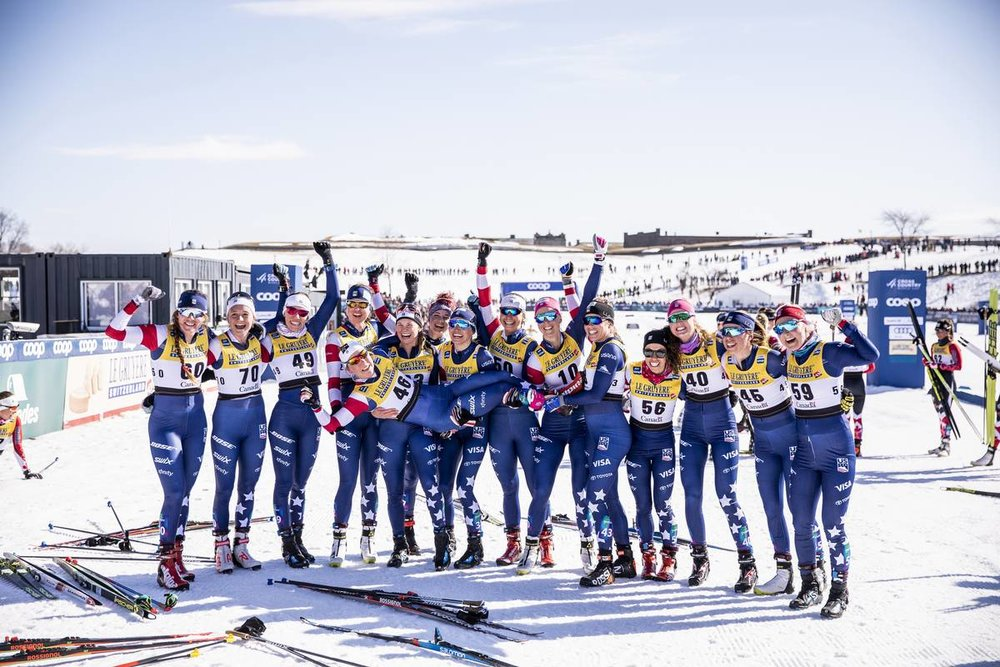 Lucky to be surrounded by this incredible group of women on my mission. (Nordic Focus photo)