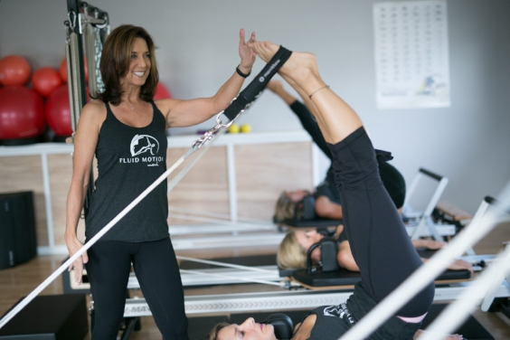 Pilates is longer leaner stronger