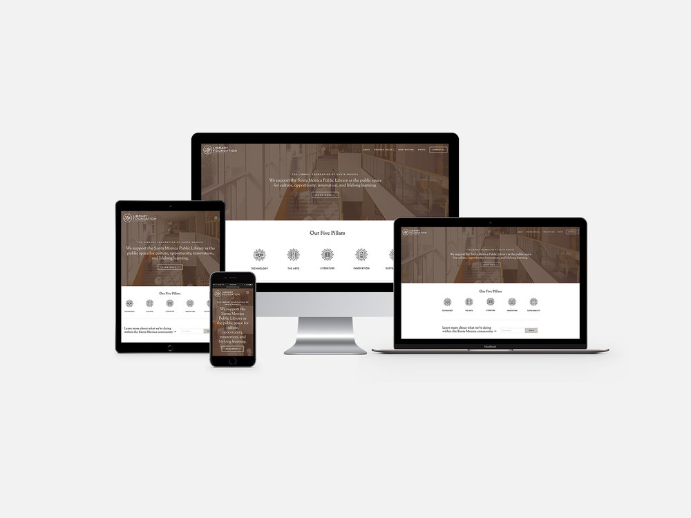 library-foundation-responsive-web-design