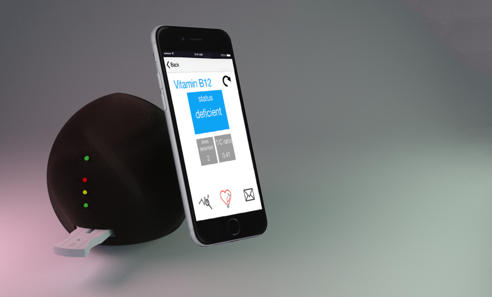 NutriPhone prototype