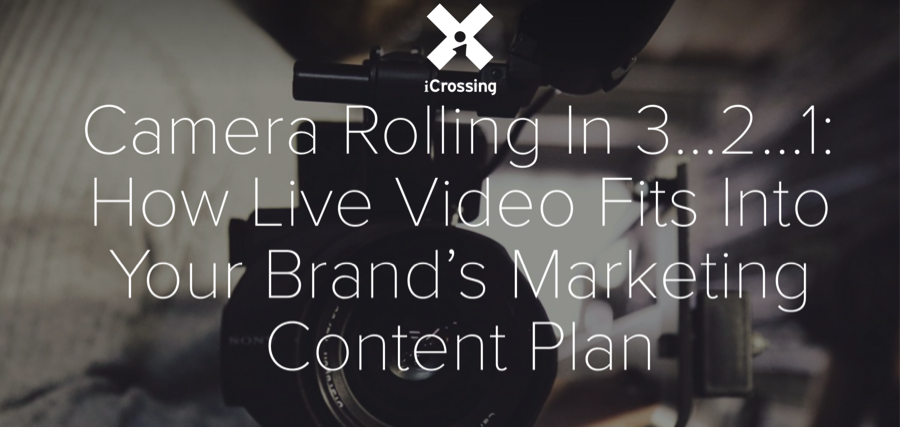 How Live Video Streaming Fits in a Content Plan