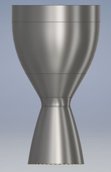 Liquid V2 Engine - Timeline: PDR - May 2019, Initial Ground Testing - Fall 2020, Final Launch - Fall 2021V2 is a liquid bipropellant rocket engine. Because liquid rocket engines are almost exclusively used in the industry, it is vital that SSS works to develop this technology.Some of the new and exciting technologies to be implemented on V2 include regenerative cooling, thrust vector control, turbomachinery, and a conventionally manufactured like-impinging injector. These are all advanced technologies never before used in SSS.Several parts of this engine are still in the development phase and are steadily progressing towards testing phases and final integration on the Phase V rocket.