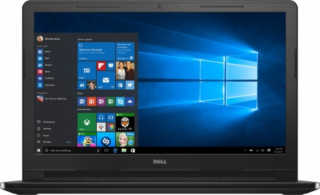 This Dell Inspiron is going for $349 and it is touch screen!