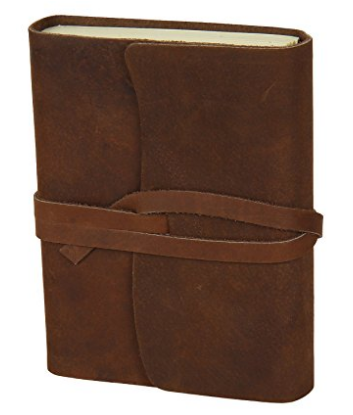 Once $200 this leather journal is going for $34.99
