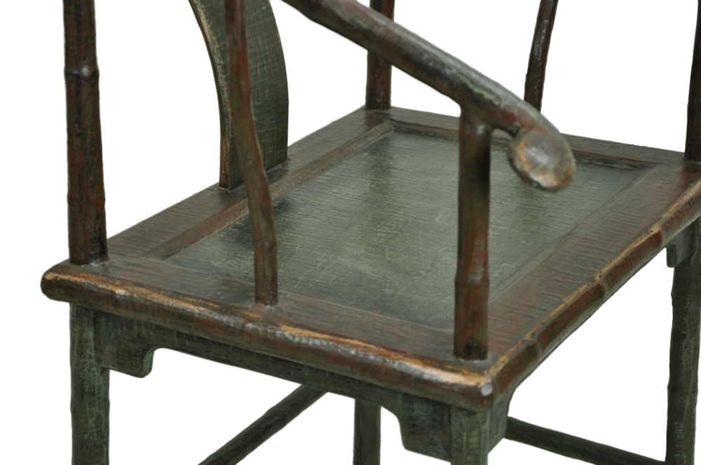 Linen Wrapped Throne Chair