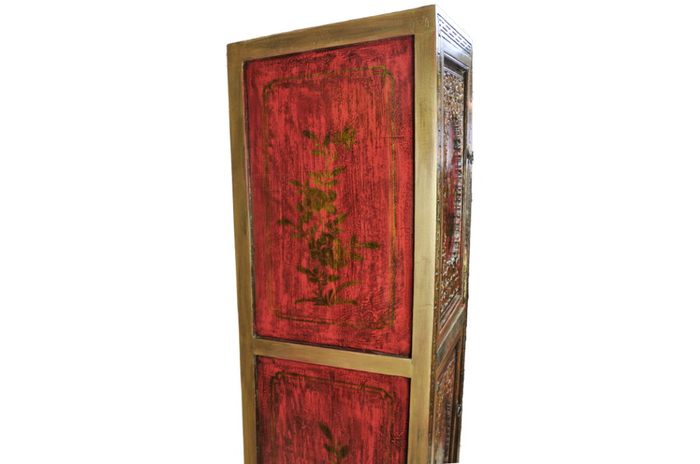 Apple Blossom Chinese Cabinet