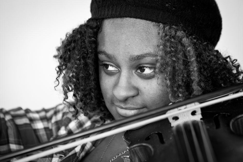 Kalla Ervin  - Ambassador Ensemble Violinist & Poet