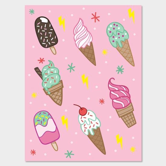Gift Bag Design - Ice Cream
