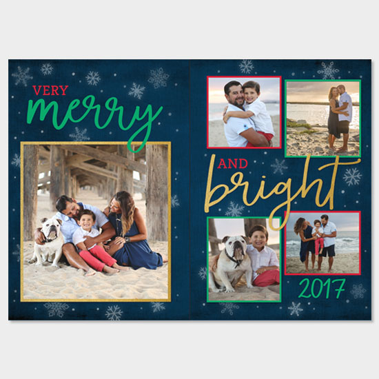 Very Merry & Bright for Shutterfly