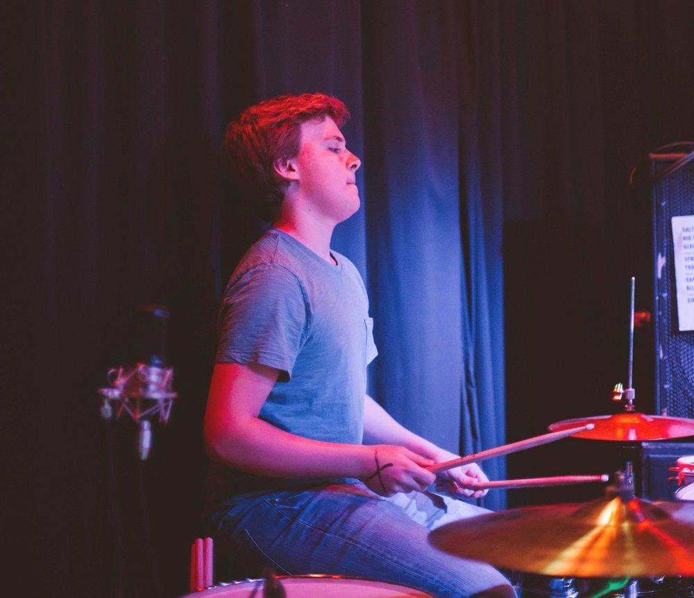Eli Hartsoe - Drums, percussion