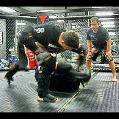 - World-renowned MMA star, Frank Mir working on isolation drills with Coach Blauer before his fight with Nogueria. Even though High Gear was originally designed for scenario-based training for police, military and self-defense, it has found its way into MMA and has been used by many of the world's top trainers.