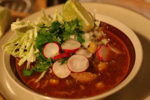 mexsantajpg pozolejpg - Traditional Mexican Christmas Dinner