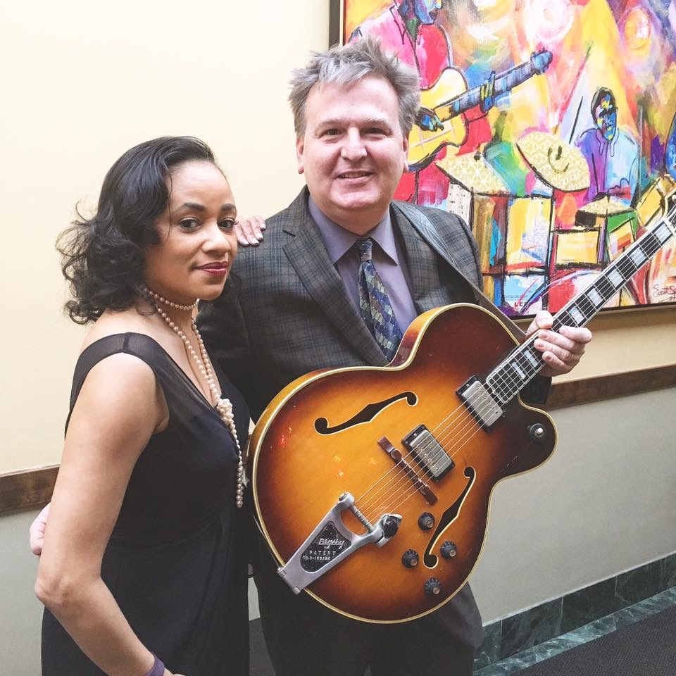 At twenty years and counting, vocalist Charmin Michelle and guitarist Joel Shapira are the longest standing jazz Dúo in town. Two formidable TC talents with extensive credentials, and the talent to back it up. Great American Songbook, Jobim, Monk and more.