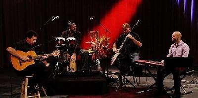 World Jazz Collegium Quartet:Pavel Jany - guitars, John Croarkin - sax/flute, Beth Varela - drums/percussion Dan Weston - bass, and special guests.