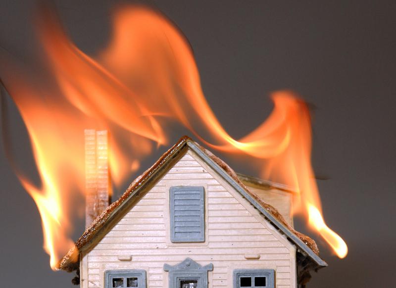 Delightful House On Fire
