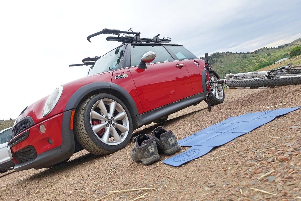 Perfect pairing of car and mat