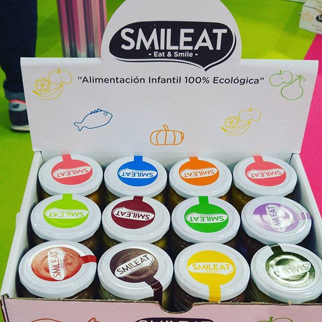 Love the cute packaging #organic #babyfood #smileatbaby #madeinspain  I tried some -- yummy natural @babylivinglab