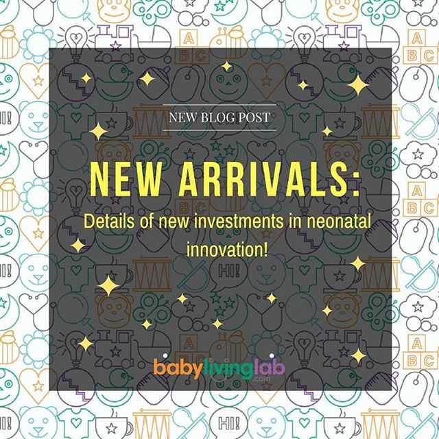 NEW ARRIVALS! All details of new investments in #neonatal #innovation.