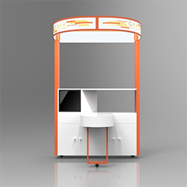 QH Health Kiosk - Industrial Design, Branding, Research, Supply Chain