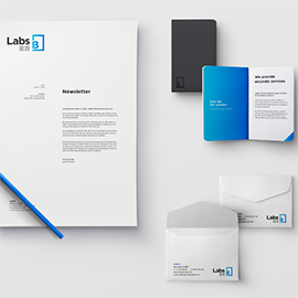 Labs B - Logo, Brand Identity, Templates, Video
