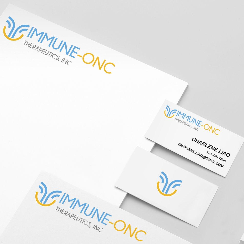 Immune-Onc - Logo, Brand Identity, Templates, Website