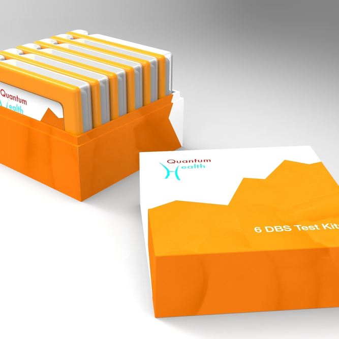 QH Test Kit - Industrial Design, Packaging Design, Sketching, CAD, Prototyping
