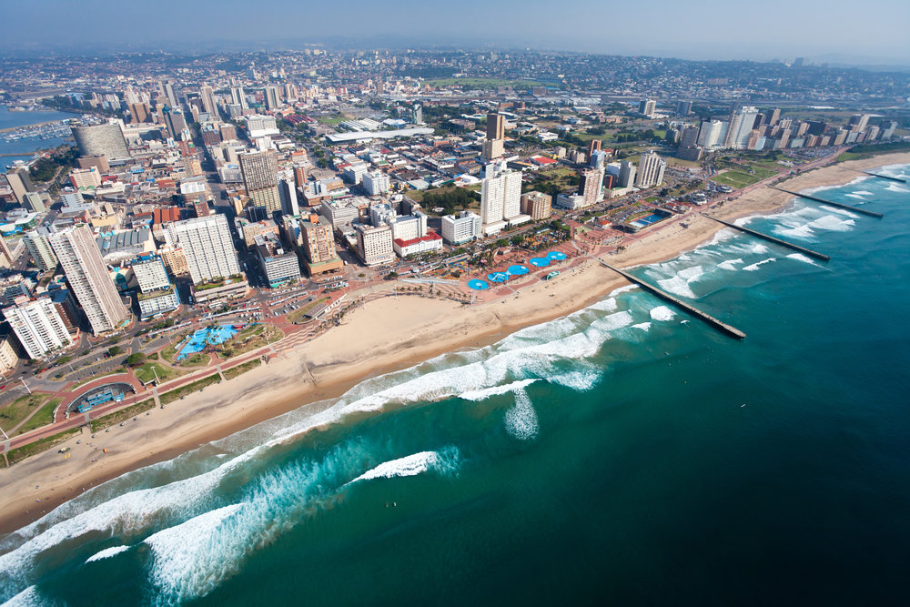 Durban City Coastline