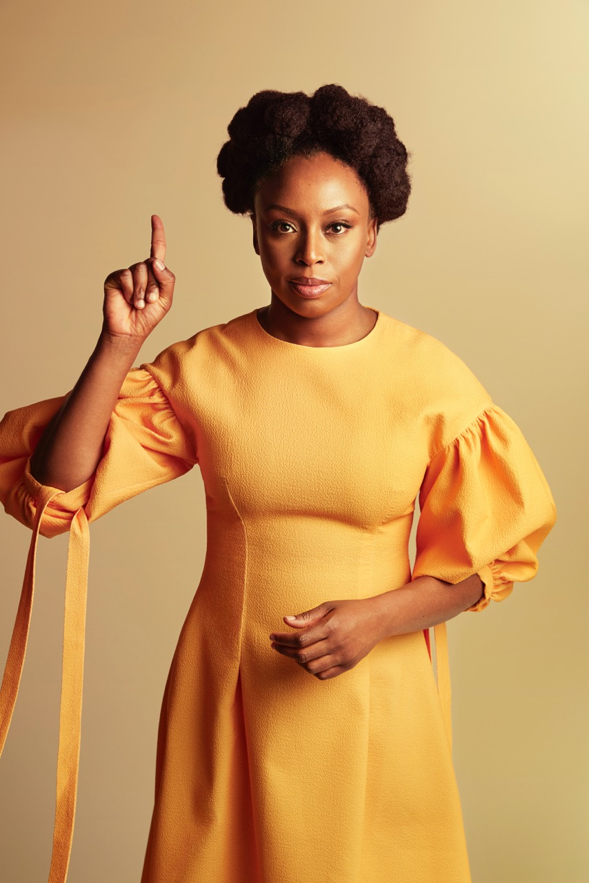 Author, Feminist and all round wonderwoman Chimamanda Ngozi Adichie photographed by portrait photographer Chris Floyd represented by photographic agency Flock.jpeg