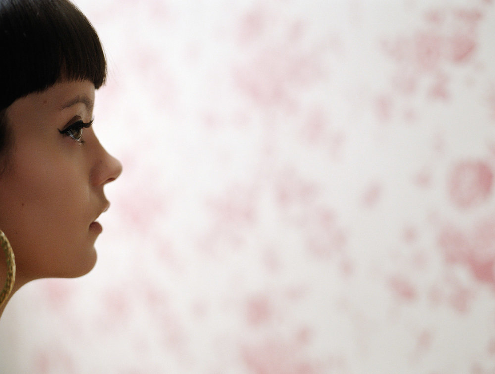 Lilly Allen photographed by Chris Floyd represented by Flock