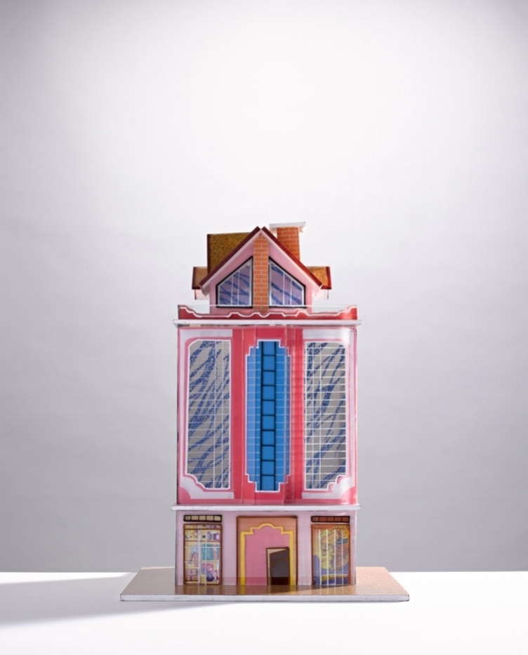 Bolivian house model photographed Jonathan Minster represented by Flock