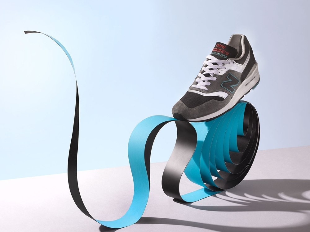New_Balance_sneaker_papercraft_photographed_by_Jonathan_Minster _photoagent_Flock