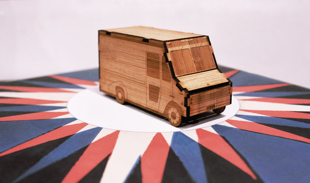 Postal Van - Mini Kit